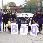 "<b>Homecoming Parade</b><br/> Luther's homecoming weekend involved an annual homecoming parade in downtown Decorah. Oct 26, 2018. Photo by: Annie Goodroad '19<a href=""//farm5.static.flickr.com/4863/44874619355_f4ffa35a23_o.jpg"" title=""High res"">&prop;</a>"