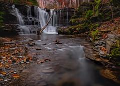 Templar Falls (ianfraserphoto) Tags: landscape water long exposure new york western buffalo rochester syracuse watkins glenn waterfalls lakes great seasons fall summer autumn windy