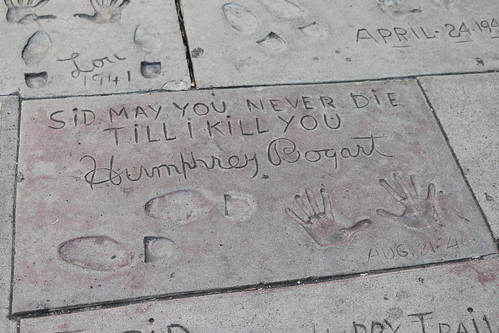 "Humphrey Bogart's Handprints at the TCL Chinese Theatre • <a style=""font-size:0.8em;"" href=""http://www.flickr.com/photos/28558260@N04/44890239815/"" target=""_blank"">View on Flickr</a>"