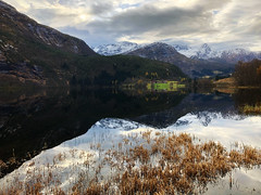 Storevatnet -|- Great lake (erlingsi) Tags: erlingsi iphone erlingsivertsen nes austefjorden storevatn