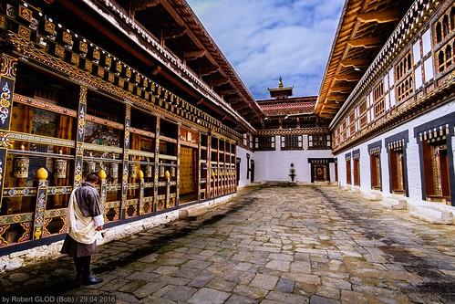 Trongsa - Trongsa Dzong (The largest Dzong in Bhutan)