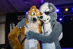 DSC09027 (Kory / Leo Nardo) Tags: pacanthro pawcon paw con pac anthro convention fur furry fursuit suiting mascot sona fursona san jose doubletree hotel california dance party deck animals costuming pupleo 2018