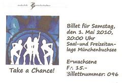 "Eintrittskarte Musikschule Münchenbuchsee • <a style=""font-size:0.8em;"" href=""http://www.flickr.com/photos/79906204@N00/45219205605/"" target=""_blank"">View on Flickr</a>"