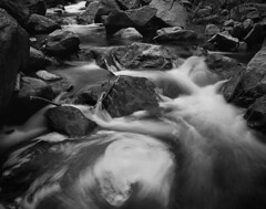 8x0799w (2018) (IntimateMuse) Tags: bw monochrome water rocks landscape river