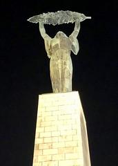 Liberty Statue, Budapest (RobW_) Tags: liberty statue gellert hill citadella budapest hungary amaviola danube 16nov2018 november 2018