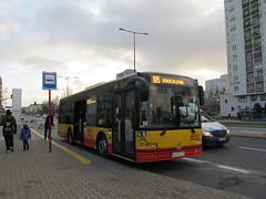 Solbus Solcity 10, #1030, MZA Warszawa (transport131) Tags: bus autobus solbus solcity mza warszawa ztm warsaw wtp