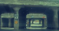 Bridge Overpass x3 (Random Retail) Tags: binghamton ny 2017 railroad