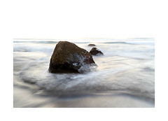Rock study (lawm1) Tags: rock rocks sea seascape backbeach newplymouth taranaki newzealand movement waves water longexposure evening marklaw photography lawm1 canon