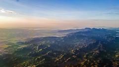 Dawn from the sky (federicocristina) Tags: sky salvador bahia bahía landscape brazil mountains morro