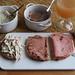 Fleischsalat, Rinderleberwurst und Fleischkäse auf Dinkel-Joghurt-Brot