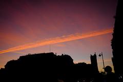 Skyline (Calinore) Tags: paris city ville silhouette sky ciel cloud ruederivoli toursaintjacques coucherdesoleil sunset