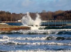 Wind & Wellen. (♥ ♥ ♥ flickrsprotte♥ ♥ ♥) Tags: kiel ostsee wind wellen strand falckenstein flickrsprotte natur januar2019