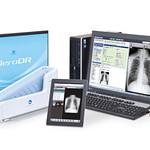 診療所向けデジタルX線画像診断システムの写真