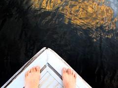 i jump into the sunset (lualba) Tags: lake alqueva sunset light water licht wasser füsse feet alentejo portugal