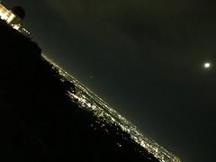 LA at Night (hinxlinx) Tags: night griffith observatory moon la los angeles