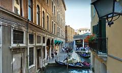 6 (ERREGI 1958) Tags: canali canale veneto venezia acqua italia italy gondola edificio edifici cielo sky