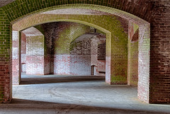 20140615_fort_point_arches_002 (petamini_pix) Tags: fortpoint sanfrancisco arches hdr brick