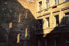 Backstreets of Prenzlauer Berg, Berlin. 35mm film. (jamesloughlin1) Tags: 35mm 35mmfilm berlin prenzlauerberg germany travelphotography travel streetphotography colourfilm blackandwhitefilm filmphotography filmisnotdead ishootfilm canonae1 canonphotography fujifilm