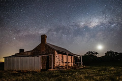 Relics (nightscapades) Tags: astronomy astrophotography crookwell galacticcore goulburn milkyway night nightscapes sky stars windfarm