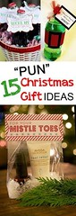 "Basket Gifts : 15 Pun Christmas Gift Ideas- creative ""Punny"" Christmas Gift ideas that aren'… (giftsmaps.com) Tags: gifts"