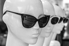 Heads & Shades (MC Ece) Tags: optician glassesstore storewindowdisplay mannequins glasses sunglasses