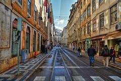 710_8465z1 (A. Neto) Tags: sigmadc18250macrohsmos sigma nikond7100 nikon d7100 copyrightcaneto color cityview street people architecture portugal lisboa lisbon rails