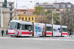 BRN_1915_201811 (Tram Photos) Tags: skoda škoda 13t brno brünn strasenbahn tram tramway tramvaj tramwaj mhd šalina dopravnípodnikměstabrna dpmb