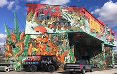 Art, Brooklyn (piktaker) Tags: usa newyork brooklyn graffiti art wallart urbanart painting colossalmedia streetart alwayshandpaint