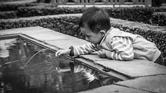 Fishing (#Weybridge Photographer) Tags: canon 5d mk ii mkii eos slr dslr adobe lightroom nepal kathmandu portrait boy child monochrome