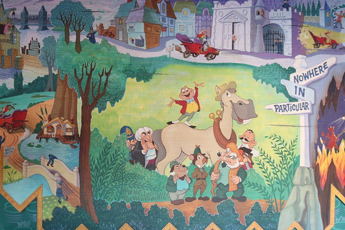 """Mr. Toad Mural (Behind Load Area) • <a style=""""font-size:0.8em;"""" href=""""http://www.flickr.com/photos/28558260@N04/45999344452/"""" target=""""_blank"""">View on Flickr</a>"""