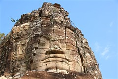 Ta Prohm Temple (adamsgc1) Tags: face angkorthom cambodia bayon bayontemple siemreap