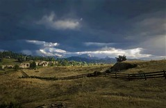 """"""" Wildlands """" (maka_kagesl) Tags: second secondlife sl sky spring sand summer stone woods wood farm house grass tree trees air virtual videogame view views avatar avi prairie game gaming ground garden green landscape land rdr rdr2"""