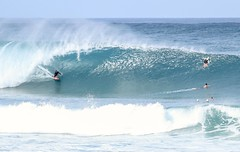 Pipeline. Oahu, Hawaii (Corey Rothwell) Tags: wave surfing surf hawaii surfer oahu barrel