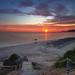 Sunset on Vrachos beach