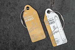Bagtags from original China Eastern A320 (aviationtag.com) Tags: chinaeastern airbus a320 b2400 bagtag keychain aviationtag avgeek aviationspotting aviationspotter planespotter planespotting upcycling