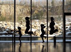 devonian jumping (stempel*) Tags: polska poland polonia polen gambezia pentax k30 eceg rzepka chęciny silhouette shadow quarry kamieniołom dewon