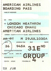 "Boarding Pass American Airlines • <a style=""font-size:0.8em;"" href=""http://www.flickr.com/photos/79906204@N00/46130639791/"" target=""_blank"">View on Flickr</a>"