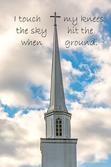 Sky and Ground (Back Road Photography (Kevin W. Jerrell)) Tags: churches churchsteeples wisecounty bigstonegap virginia southwestvirginia nikond7200 backroadphotography quotes christianity faith