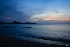 Blue Hour in Thailand (Chauxe) Tags: chauxe canoneos canon asie asia thailand thailande thailandia plage beach bluehour léverdesoleil eau mer water mar sea playa sun