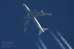 taken from my backyard 066 (planes, moon, nature) Tags: