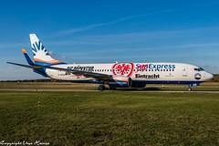 SunExpress Germany (Eintracht Frankfurt Livery) D-ASXB (U. Heinze) Tags: aircraft airlines airways airplane planespotting plane flugzeug haj hannoverlangenhagenairporthaj eddv nikon