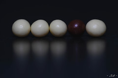 Odd one out (jerome.lebloch) Tags: oddoneout smileonsaturday macro macrophoto macrophotography chocolate