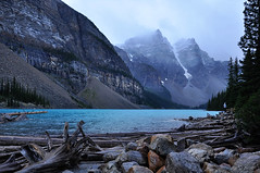 BNP_015 (Kerri M.) Tags: banffnationalpark canadaparks nationalparks morainelake lake vista glaciallake canadianrockies