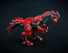 Gahdok (jayfa_mocs) Tags: bionicle bioniclemoc legomoc lego cahdok gahdok moc robot mech alien queen dinosaur monster dragon insect revamp