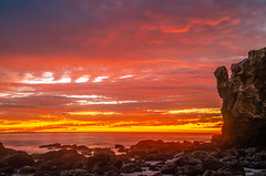 Red & Orange Breaking Storm Clouds Fine Art Malibu California Landscape Seascape Sunset Photography! Sony A7R II & Sony FE 24-240mm f/3.5-6.3 OSS Lens! Sharp High Res 4k 8K Photography! A7R 2 Elliot McGucken Fine Art Pacific Ocean Sunset! Sony A7RII A7R2! (45SURF Hero's Odyssey Mythology Landscapes & Godde) Tags: red orange breaking storm clouds fine art malibu california landscape seascape sunset photography sony a7r ii fe 24240mm f3563 oss lens sharp high res 4k 8k 2 elliot mcgucken pacific ocean a7rii a7r2 stormy el matador state beach iii 1635mm f28 gm g master a7riii a7r3