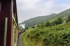 A train ride in Snowdonia, Wales [1523] (my.travels) Tags: train snowdonia welsh highland railways railway wales rhyddddu travel nikon d7200 greatbritain unitedkingdom rhydddu gb