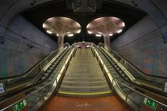 Westend Station (Samsul Adam) Tags: fujifilm xt1 samyang 8mm f28 fisheye westend station ubahnhof frankfurt germany europe 2018
