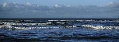 Waves (Wouter de Bruijn) Tags: fujifilm xt2 fujinonxf56mmf12r wave waves water sea ocean blue nature seascape outdoor clouds sky oostkapelle veere walcheren zeeland nederland netherlands holland dutch