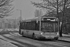 Into The Unknown (Strathclyder) Tags: first glasgow firstglasgow alexander dennis adl enviro 300 e300 sk63auc sk63 auc 67887 faifley road clydebank west dunbartonshire scotland olympialivery scotstoun simplicity