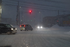 Stormy night (しまむー) Tags: pentax k30 smc fa 43mm f19 limited snow storm